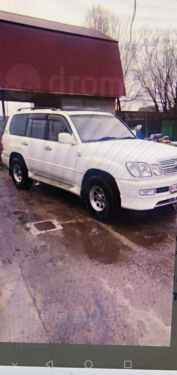 Toyota Land Cruiser Cygnus, 1999 год, 1 100 000 руб.