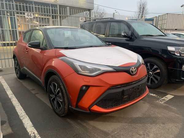 Toyota C-HR, 2019 год, 2 260 000 руб.