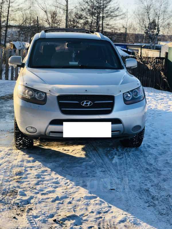 Hyundai Santa Fe, 2007 год, 595 000 руб.
