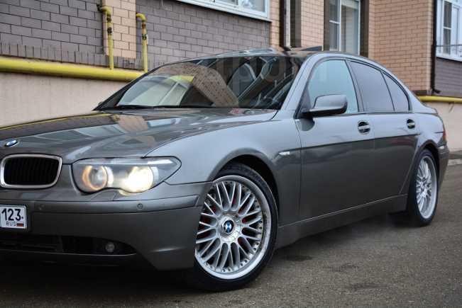 BMW 7-Series, 2003 год, 450 000 руб.