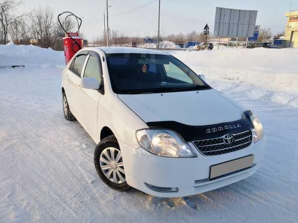 Toyota Corolla, 2003 год, 316 000 руб.