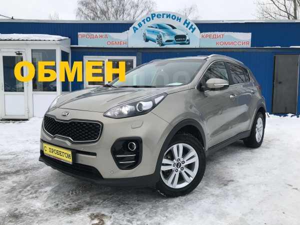 Kia Sportage, 2016 год, 1 400 000 руб.