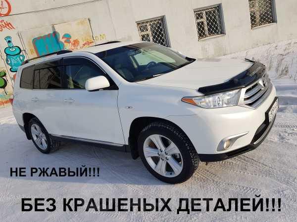 Toyota Highlander, 2012 год, 1 345 000 руб.