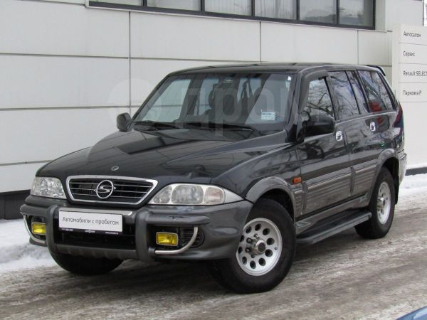 SsangYong Musso, 2002 год, 289 000 руб.