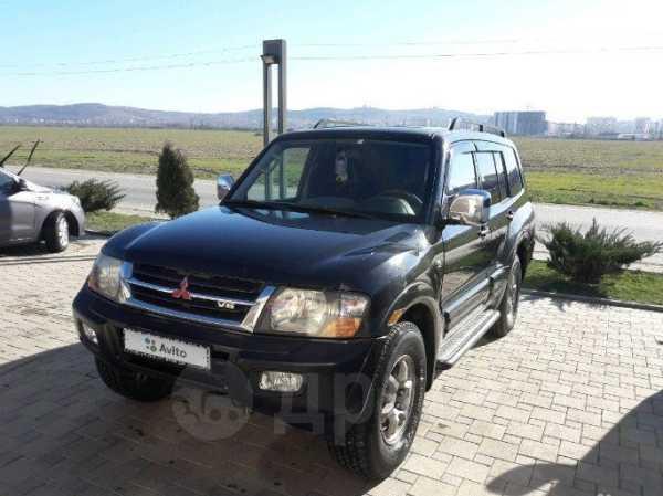 Mitsubishi Montero, 2001 год, 290 000 руб.