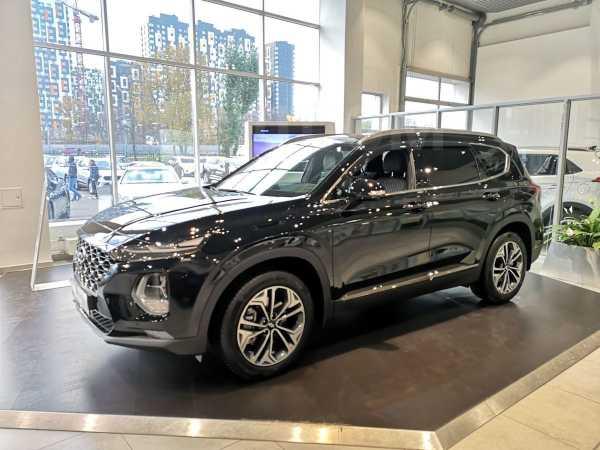 Hyundai Santa Fe, 2019 год, 2 964 000 руб.