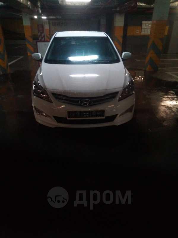 Hyundai Solaris, 2016 год, 450 000 руб.