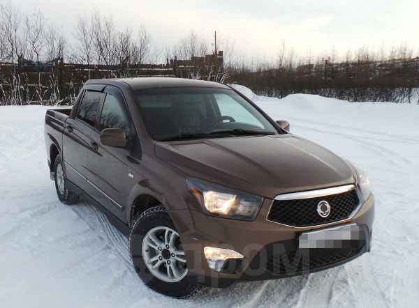 SsangYong Actyon Sports, 2012 год, 570 000 руб.