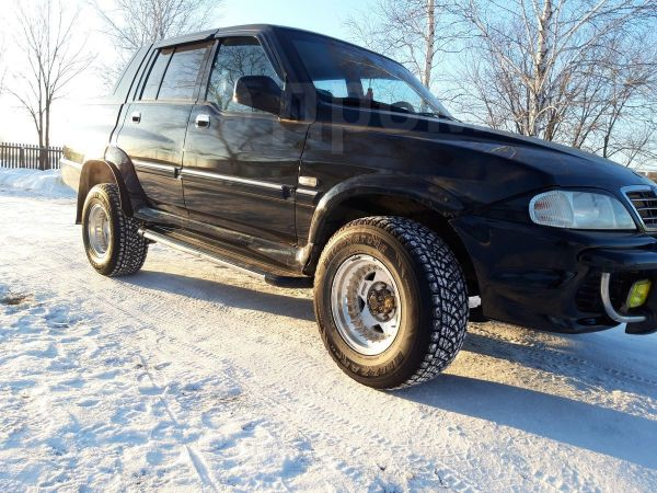 SsangYong Musso Sports, 2004 год, 500 000 руб.