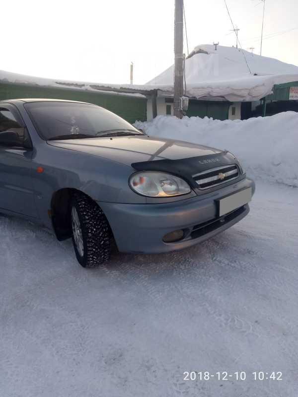 Chevrolet Lanos, 2008 год, 123 000 руб.