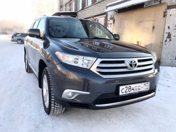 Toyota Highlander, 2012 год, 1 490 000 руб.