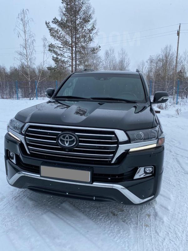 Toyota Land Cruiser, 2017 год, 4 900 000 руб.