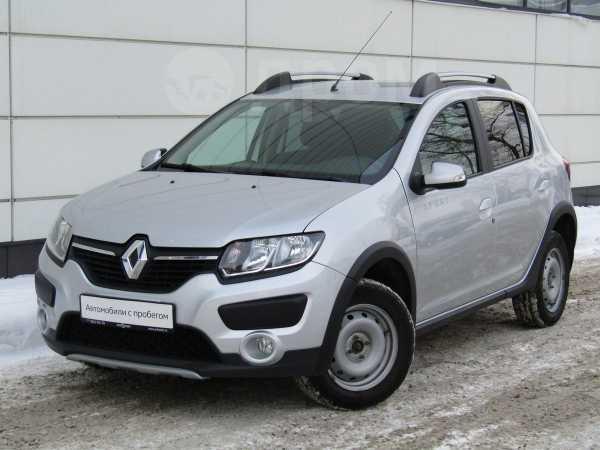Renault Sandero Stepway, 2016 год, 597 700 руб.