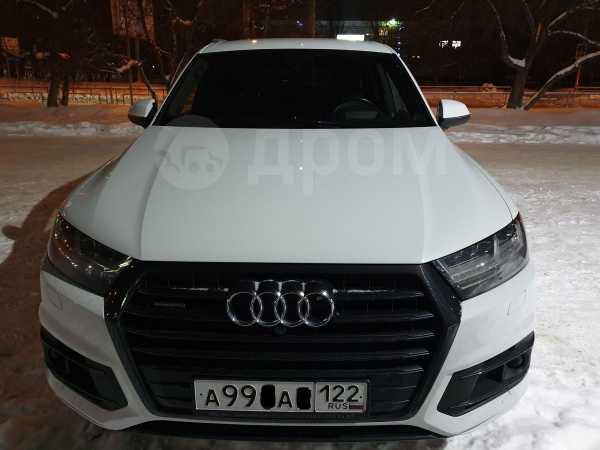 Audi Q7, 2017 год, 4 490 000 руб.