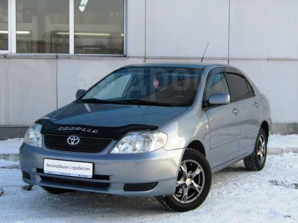 Toyota Corolla, 2002 год, 370 000 руб.