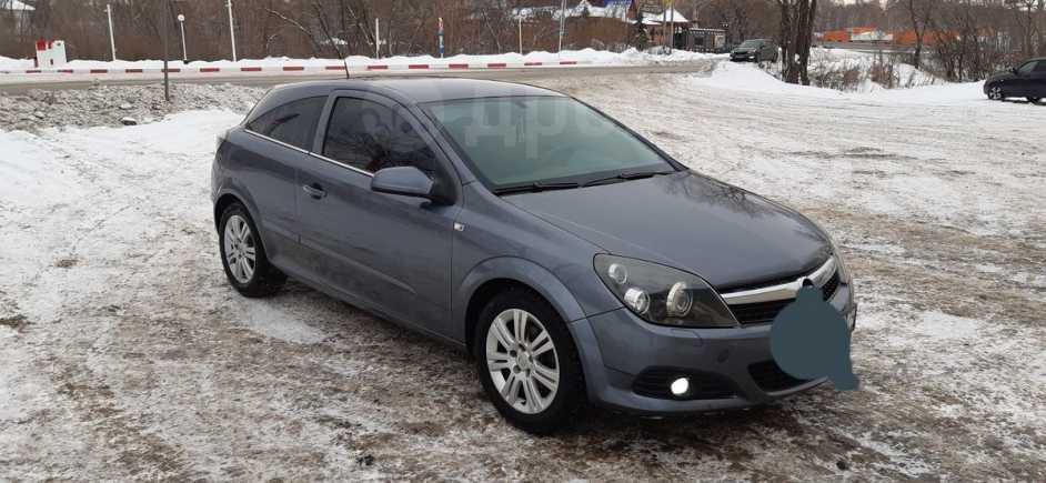 Opel Astra GTC, 2007 год, 270 000 руб.