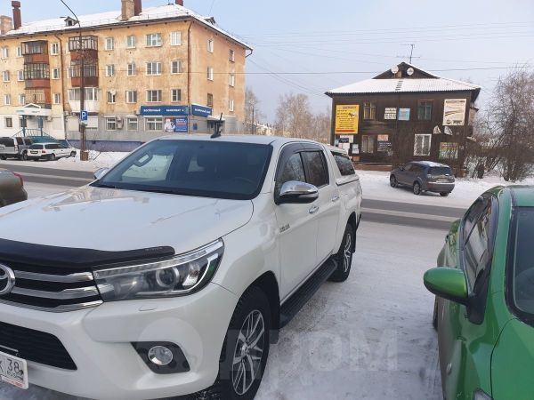 Toyota Hilux Pick Up, 2017 год, 1 850 000 руб.