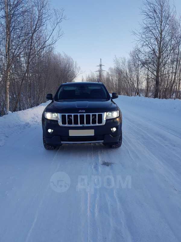 Jeep Grand Cherokee, 2012 год, 1 130 000 руб.