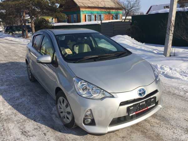 Toyota Aqua, 2014 год, 585 000 руб.