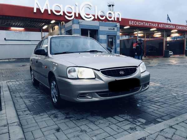 Hyundai Accent, 2004 год, 198 000 руб.