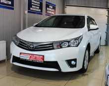 Сальск Corolla 2014