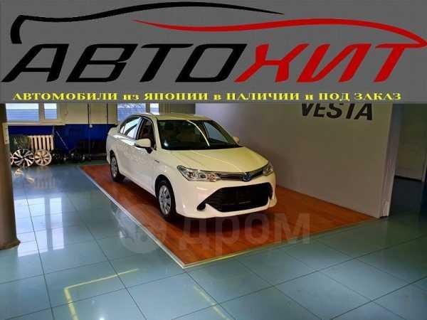 Toyota Corolla Axio, 2015 год, 730 000 руб.
