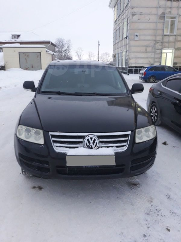 Volkswagen Touareg, 2005 год, 470 000 руб.