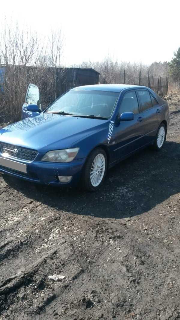 Toyota Altezza, 2002 год, 335 000 руб.