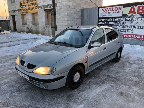 Renault Megane, 2001 год, 99 000 руб.