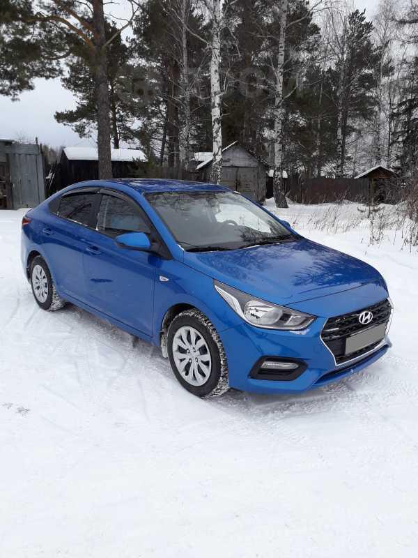 Hyundai Solaris, 2017 год, 770 000 руб.