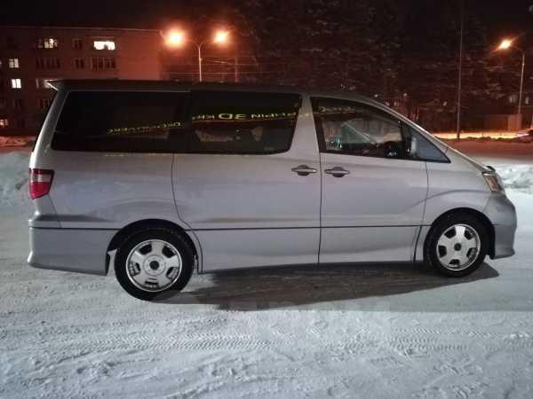 Toyota Alphard, 2002 год, 550 000 руб.
