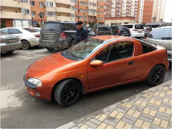 Opel Tigra, 1997 год, 100 000 руб.