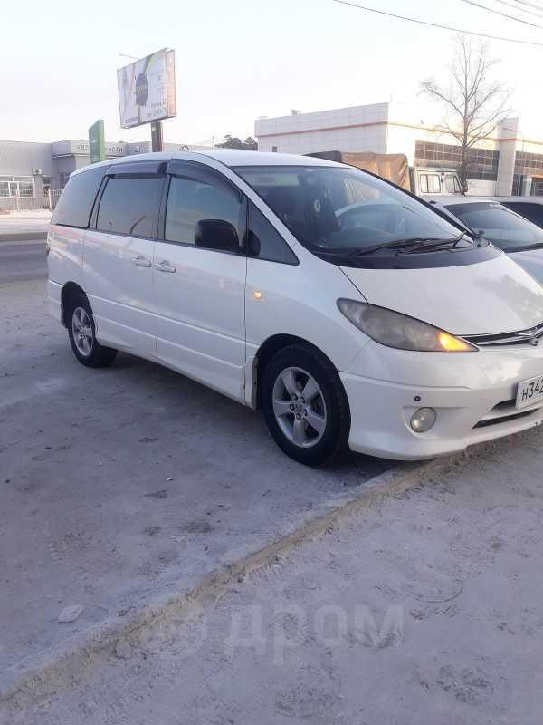 Toyota Estima, 2003 год, 555 000 руб.