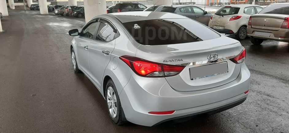 Hyundai Elantra, 2015 год, 830 000 руб.