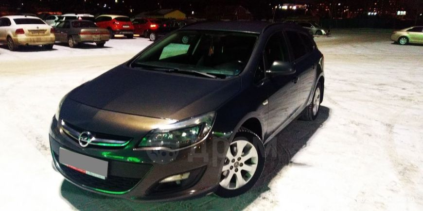Opel Astra, 2014 год, 600 000 руб.