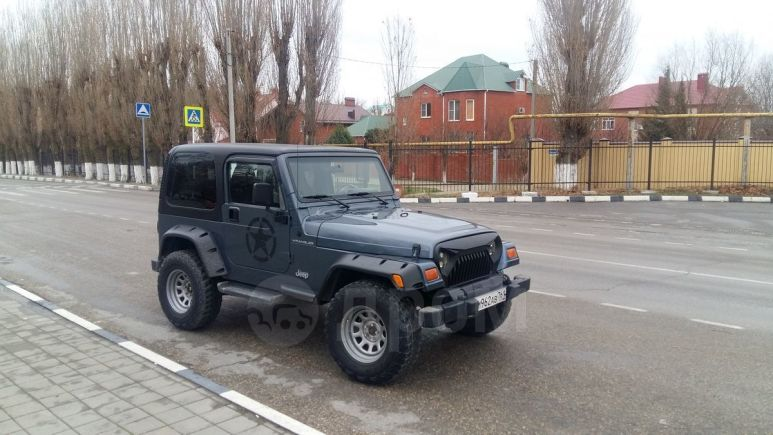 Jeep Wrangler, 2001 год, 830 000 руб.