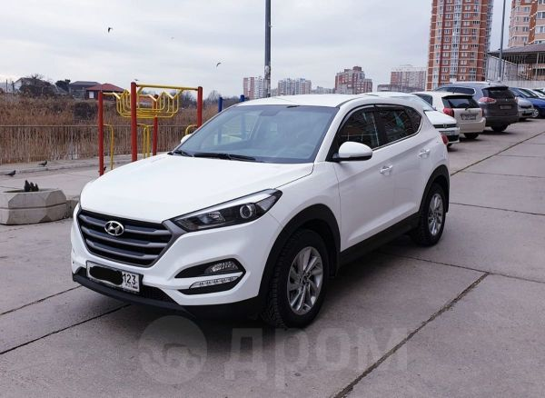 Hyundai Tucson, 2017 год, 1 390 000 руб.