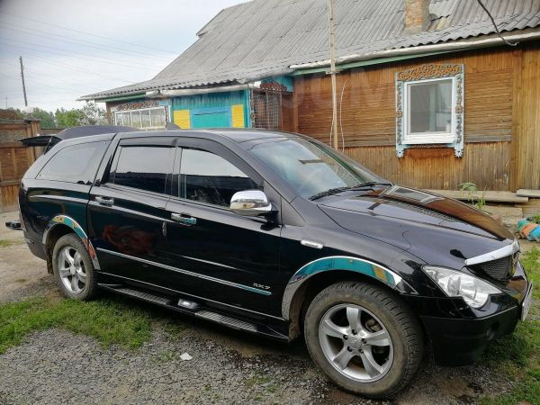 SsangYong Actyon Sports, 2009 год, 360 000 руб.