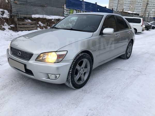 Lexus IS200, 2001 год, 260 000 руб.