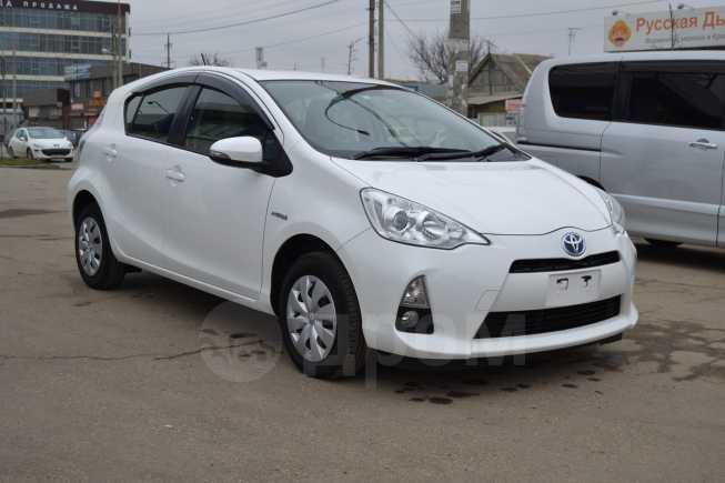 Toyota Aqua, 2014 год, 665 000 руб.