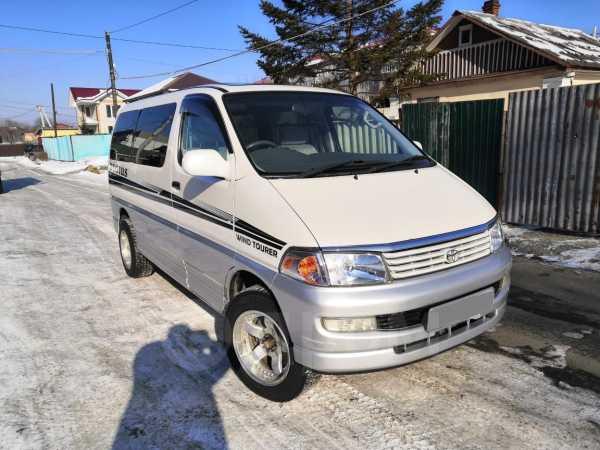 Toyota Hiace Regius, 1998 год, 595 000 руб.