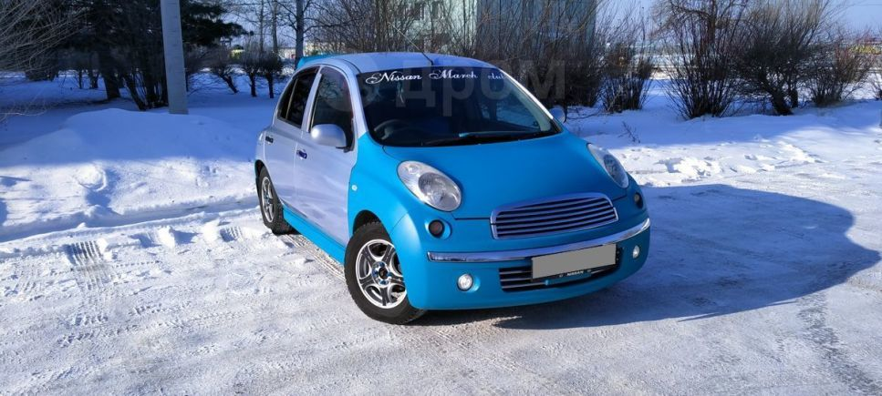Nissan March, 2003 год, 195 000 руб.