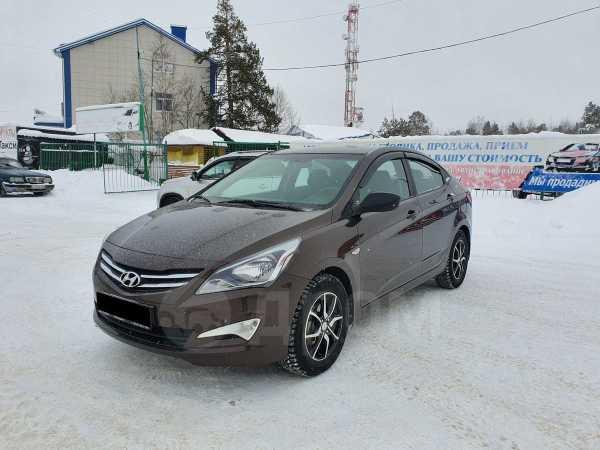 Hyundai Solaris, 2016 год, 515 000 руб.