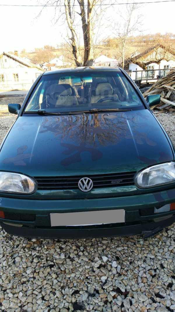 Volkswagen Golf, 1996 год, 125 000 руб.
