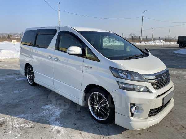 Toyota Vellfire, 2013 год, 1 650 000 руб.