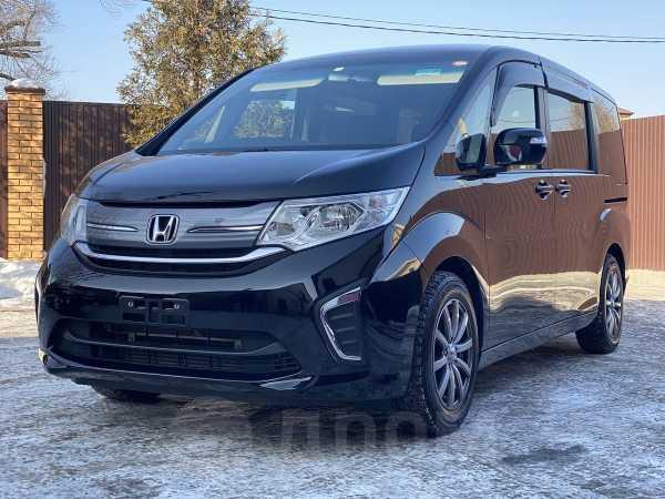 Honda Stepwgn, 2016 год, 985 000 руб.