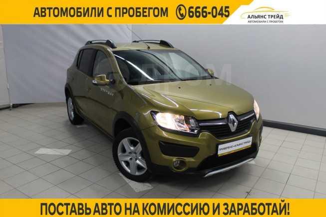 Renault Sandero Stepway, 2015 год, 545 000 руб.