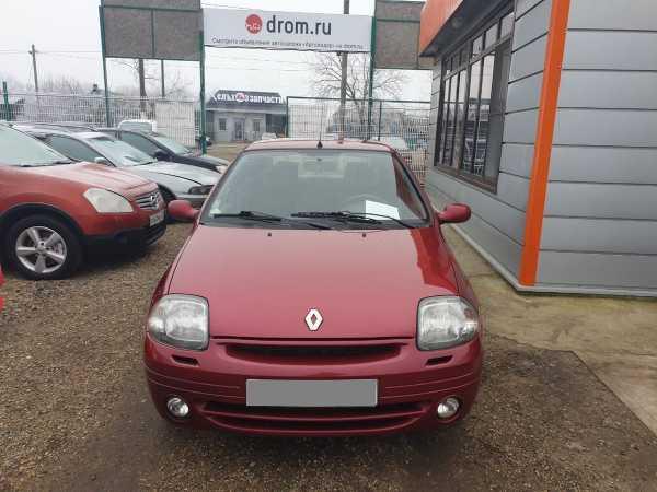 Renault Clio, 2001 год, 158 000 руб.