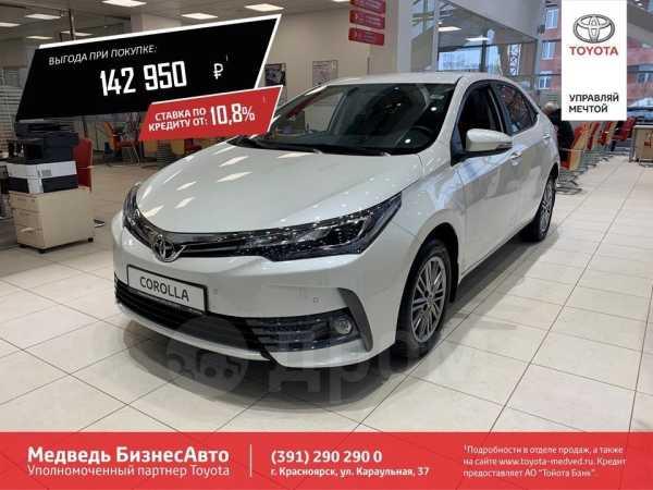 Toyota Corolla, 2018 год, 1 403 688 руб.