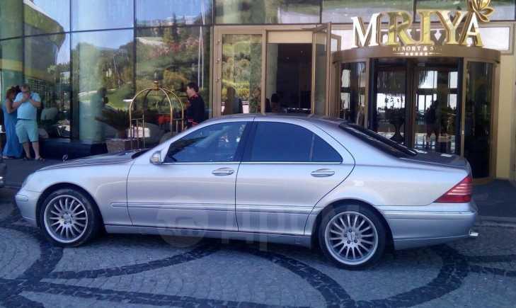 Mercedes-Benz S-Class, 2001 год, 340 000 руб.